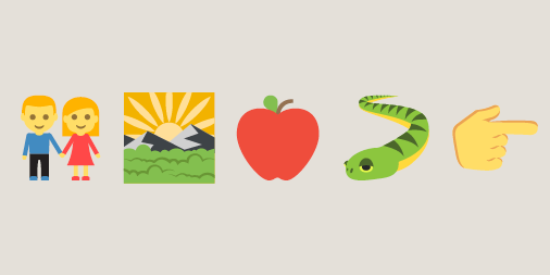 Guess the emoji Bible story! - Articles about the Bible