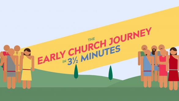 The Journey of the Early Church in 3 ½ minutes