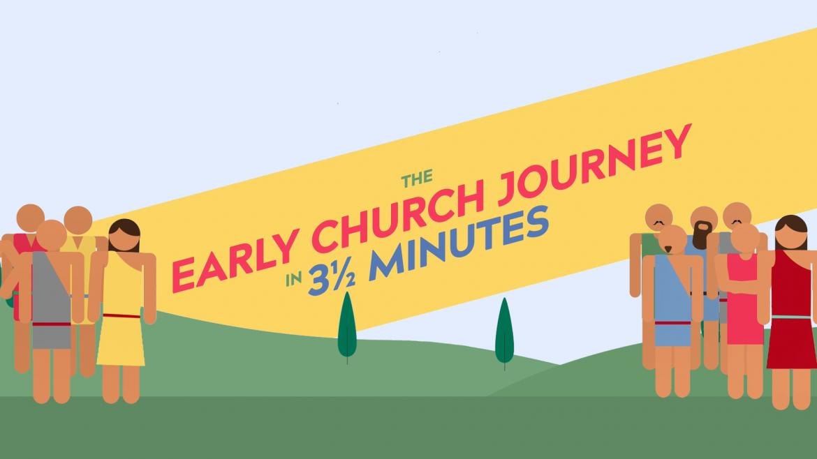 The Journey of the Early Church in 3 ½ minutes)