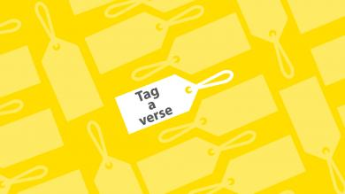 How to tag a Bible verse