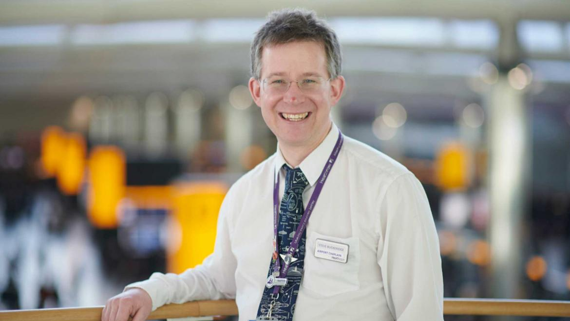 I've been a chaplain at Heathrow for seven years