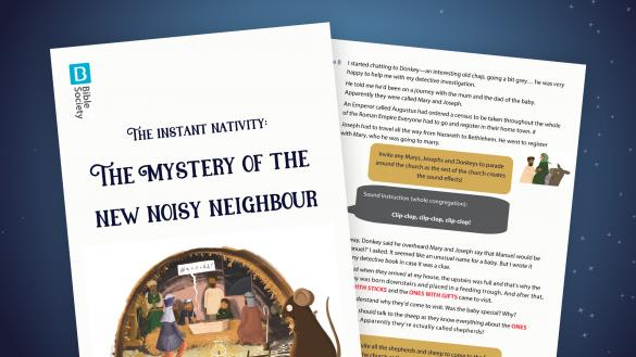 Instant Nativity: The Mystery of the New Noisy Neighbour