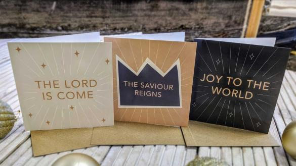 Joy Christmas Cards (pack of 6)