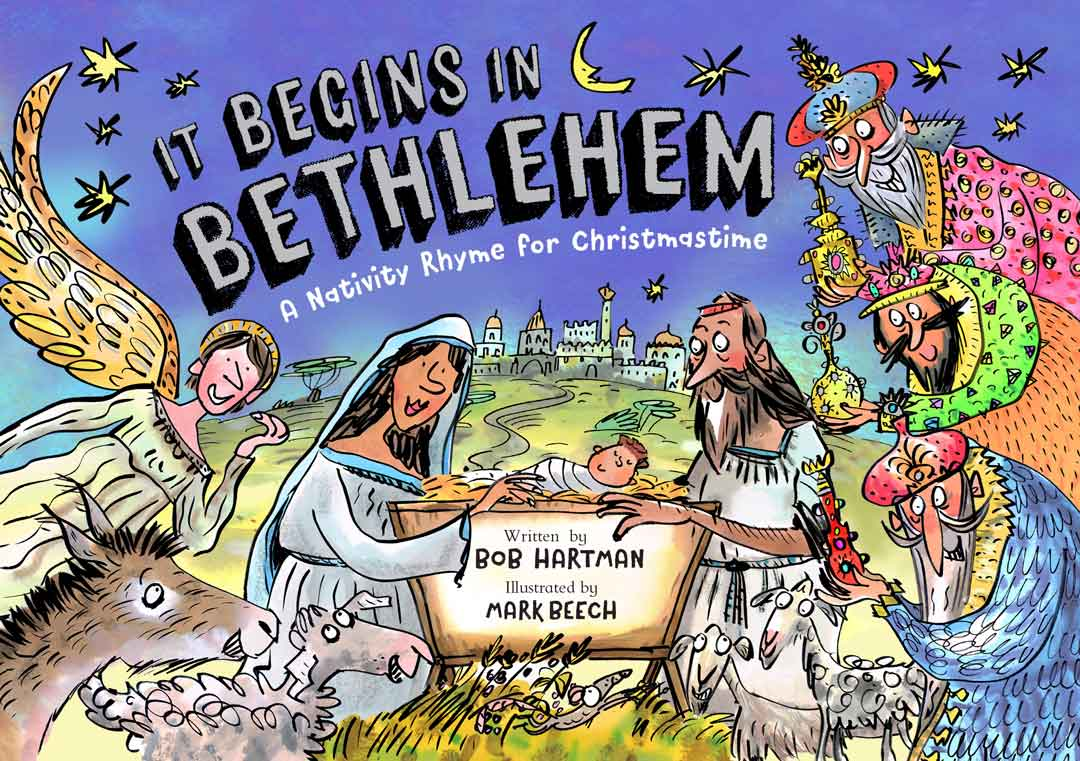It Begins in Bethlehem – A Nativity Rhyme for Christmastime