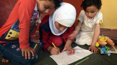 Transforming the lives of refugee children