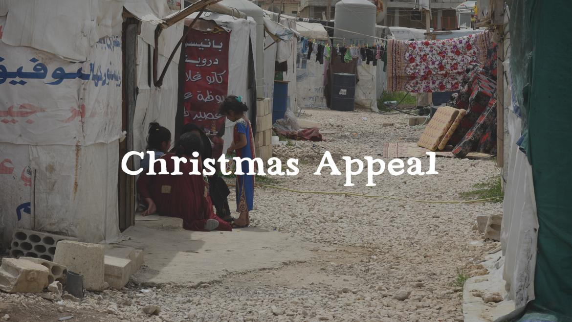 Give hope to refugees this Christmas)