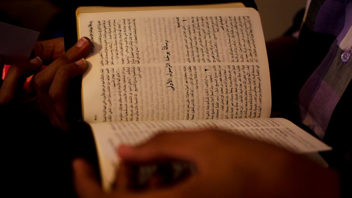 Despite the risks, 100 people ask us for a Bible every week in Morocco.)