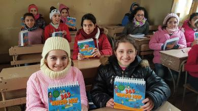Give children in the Middle East the Bible this Christmas