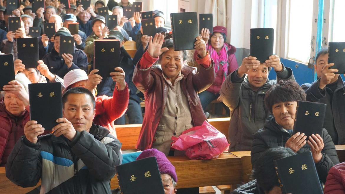 God's word is in huge demand in China. Your help today will be doubled.)