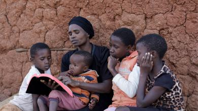 Practical and spiritual support for orphans in Southern Africa