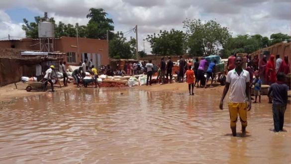 Christians in Niger have lost everything in huge floods
