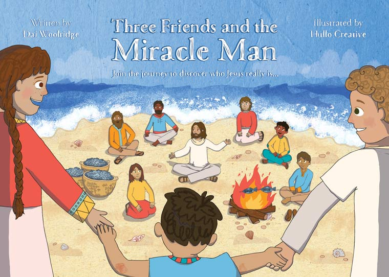 Three Friends and the Miracle Man