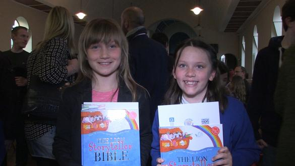 Open the Book presents prizes to winning entries of art competition