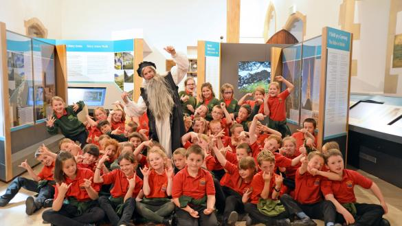 Sponsorship brings the story of Mary Jones to life for the children of Wales