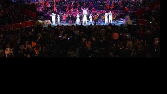 Five thousand children hear Bible story re-told in song drama and music)