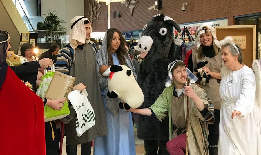 The Nativity: Bible Society style for our local community in Swindon)