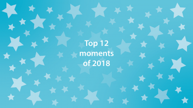 Top 12 moments of 2018