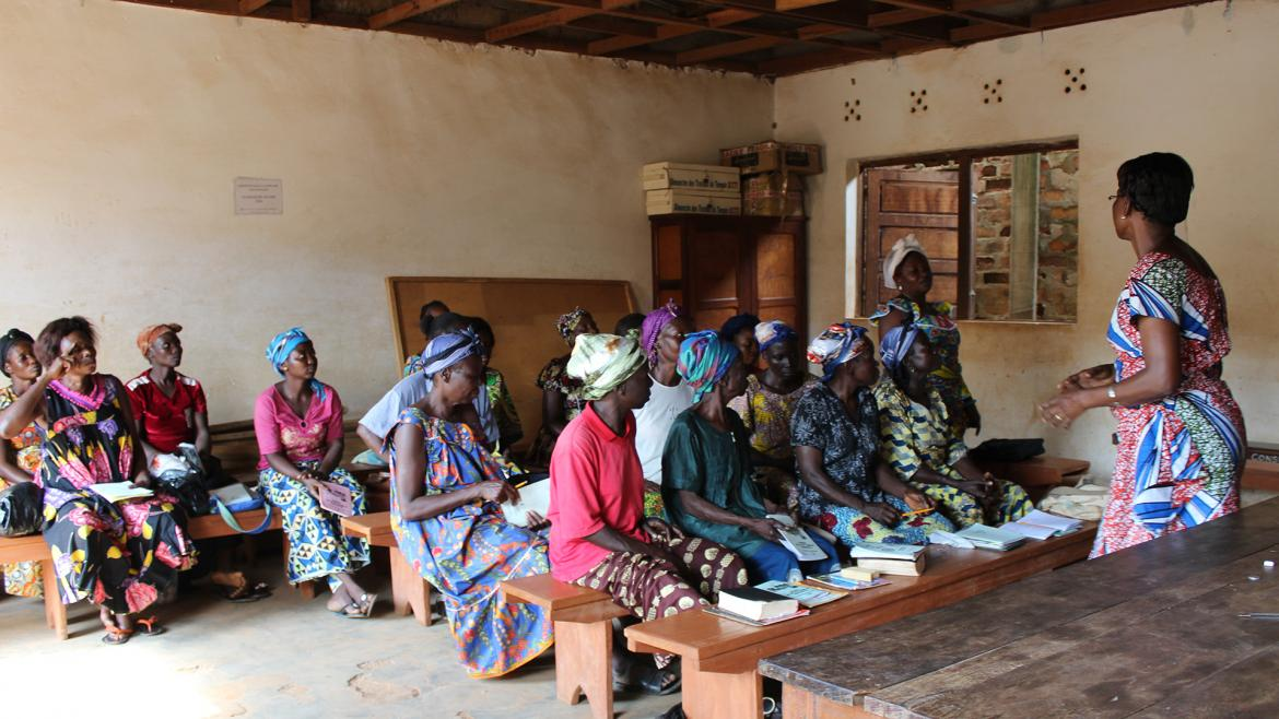 The Literacy Ladies of The Central African Republic)