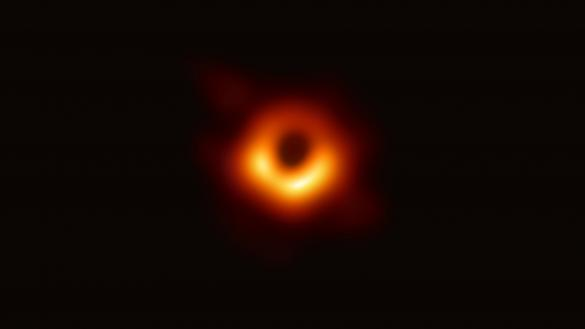 How would a biblical writer respond to the image of a black hole?
