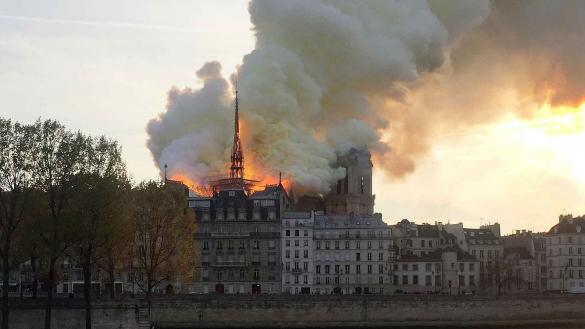 Notre Dame fire: how the Bible speaks to a modern tragedy)