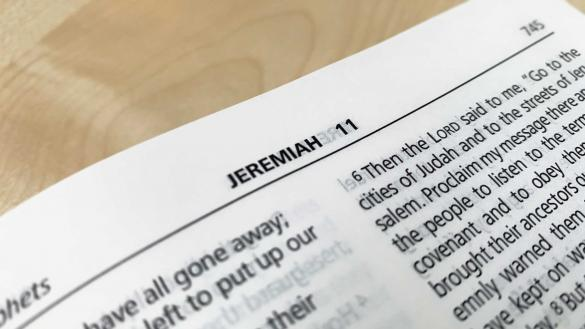 What does the Jeremiah 11.11 reference in the film 'Us' mean?
