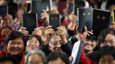 Bible mission enters crucial phase in China