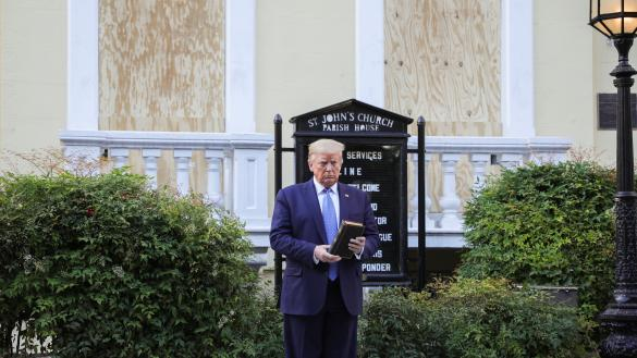 The Bible and the President)