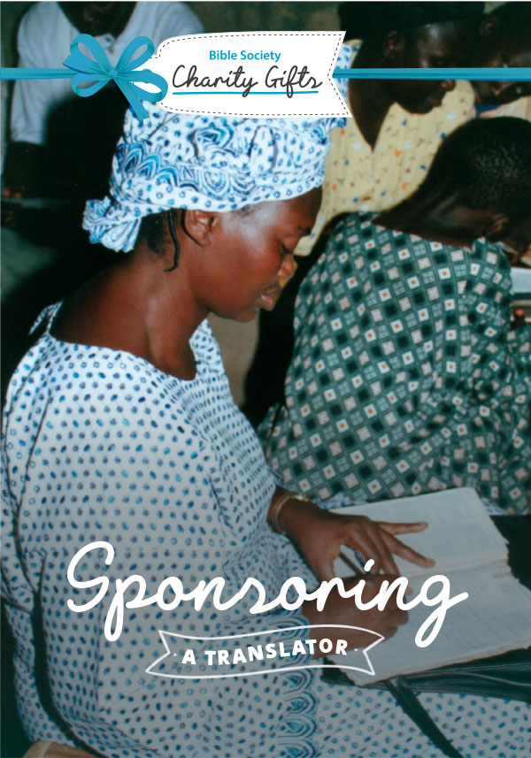Charity Gift: Sponsoring a translator