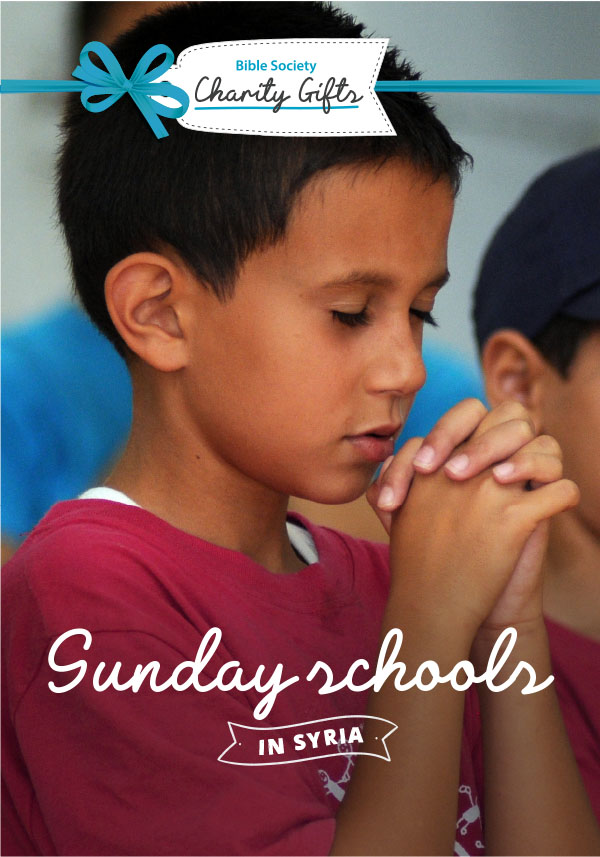 Charity Gift: Sunday schools in Syria