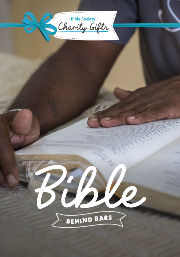 Charity Gift: The Bible behind bars