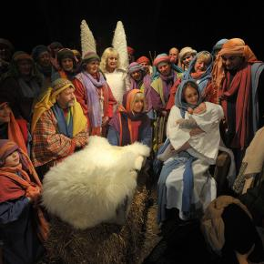 After 25 years the Wintershall Nativity grows ever more popular