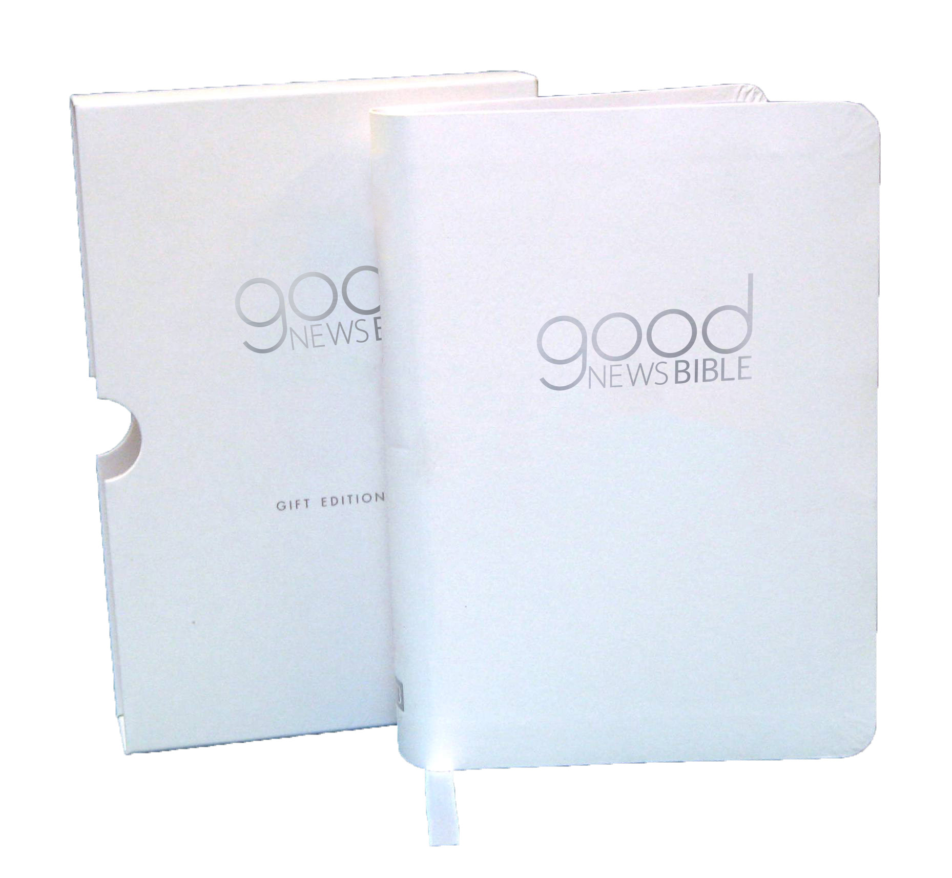 Good News Bible (GNB) Compact White Gift Edition