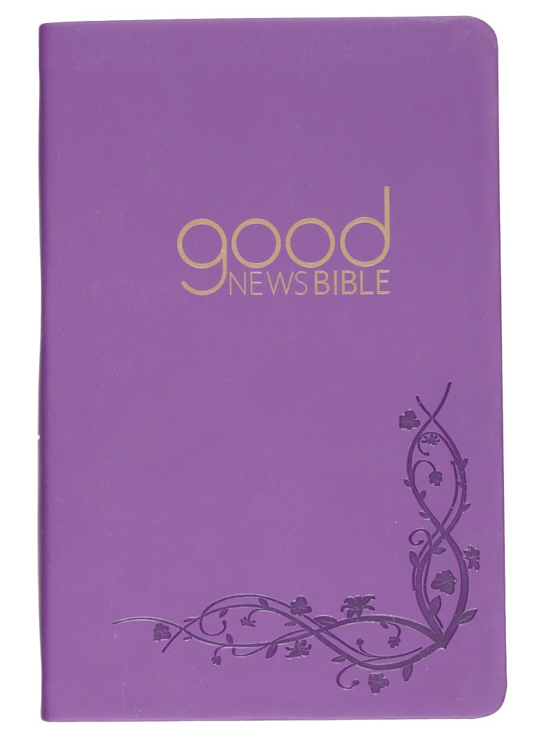 Good News Bible Purple Soft Touch