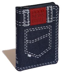 Contemporary English Version (CEV) Global Youth Denim Zip Holy Bible