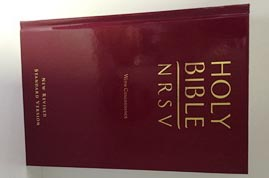 New Revised Standard Version (NRSV) Bible with Concordance