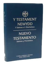 Welsh (cymraeg) and Spanish (español) New Testament Psalms and Proverbs Diglot