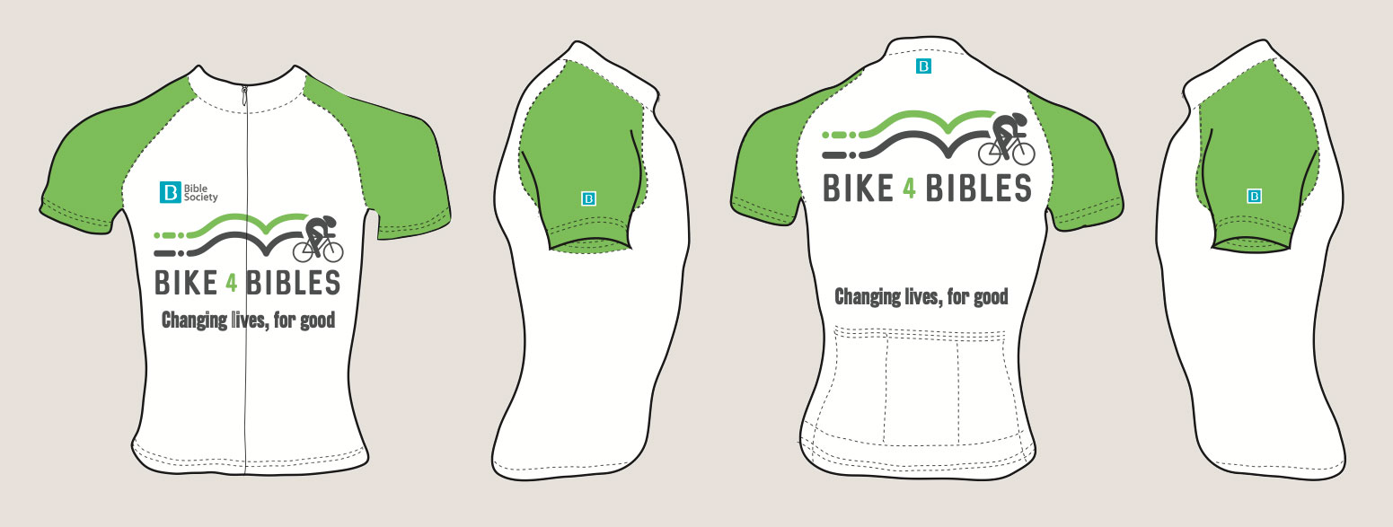 Bike for Bibles 2020 Jersey