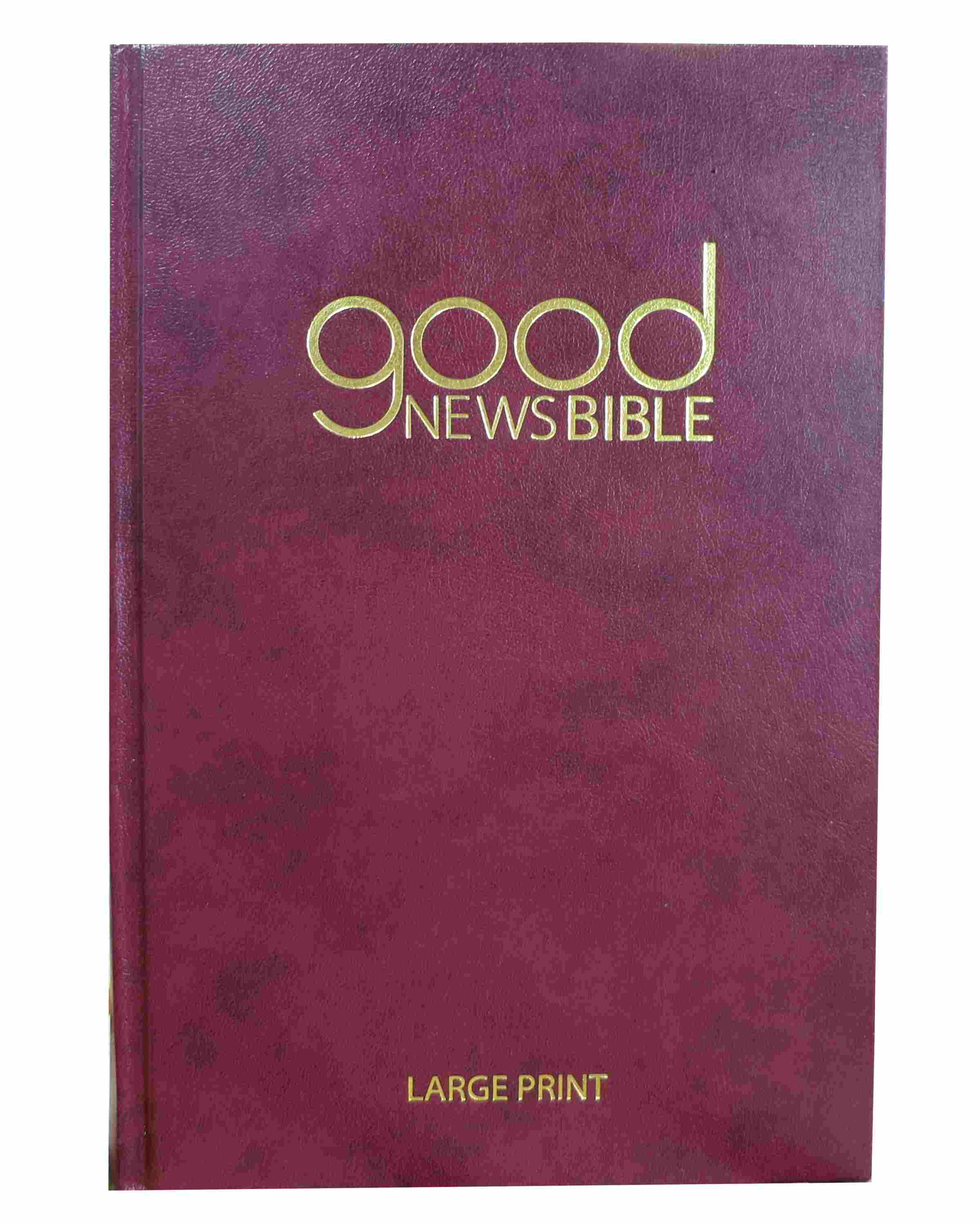 Good News Bible (GNB) Large Print