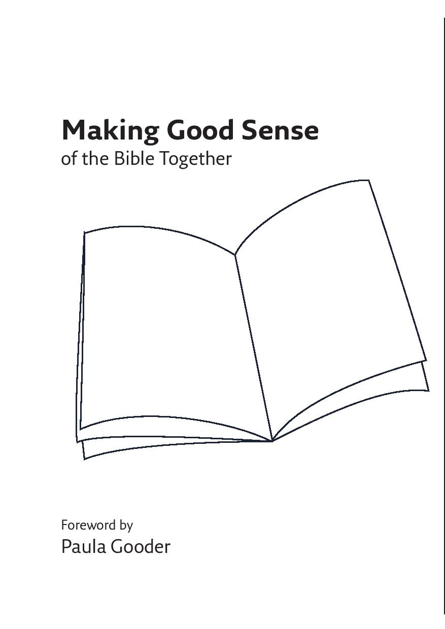 Making Good Sense of the Bible Together (Digital Edition)
