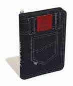 Good News Bible (GNB) Compact Mission Denim Zip Edition Holy Bible