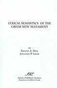 Lexical Semantics of the Greek NT