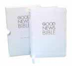 Good News Bible (GNB) White Compact Gift Edition