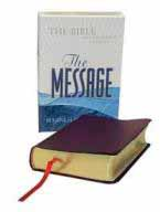 Message - Leather Compact Bible