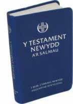 Testament Newydd, a'r Salmau (Poced Glas) - Welsh New Testament & Psalms (Pocket Blue)
