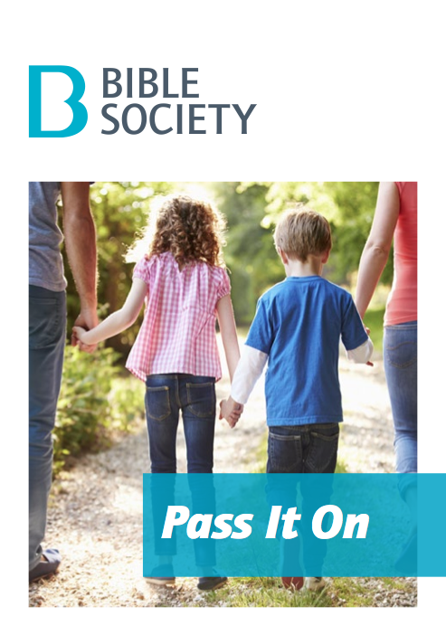 Cover of the Pass It On report