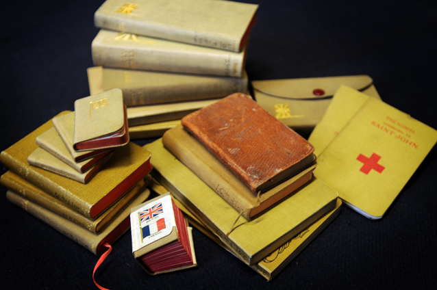 Bible 'major support' during Gallipoli campaign
