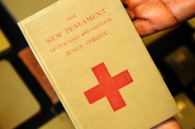Bible Society distributes 9 million Bibles during WW1