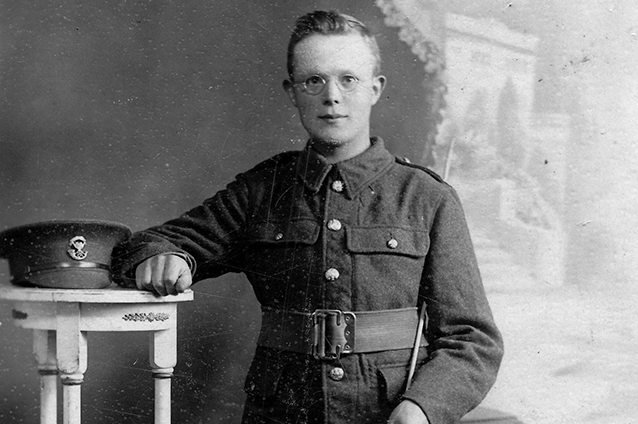Soldier's life saved at the Somme by his Bible