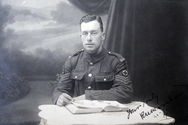 The man who saved others' lives at Passchendaele